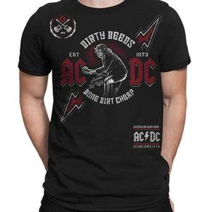 AC/DC Australian Hard Rock Men's T-Shirt Med
